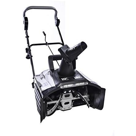 Ivation Heavy Duty 15 Amp 20 Inch Electric Snow Blower w/ 18V LED Headlight