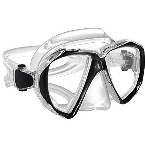 Ivation Snorkel Mask - Double Lens Diving Mask