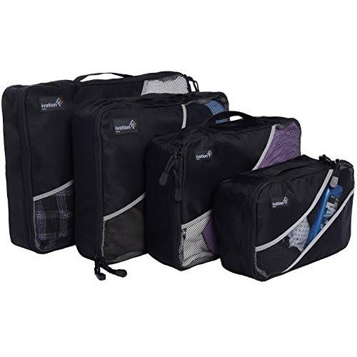 Ivation Packing Cubes Travel Organizer Bags