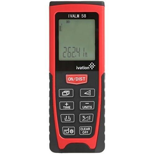 Ivation Handheld Laser Distance Measure