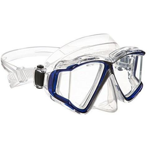 Ivation Snorkel Mask - Diving Mask - Panoramic Lens Frameless Diving Mask