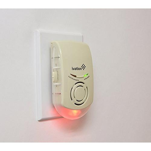 Ivation Ultrasonic & Electromagnetic Indoor Plug-In Pest Repeller