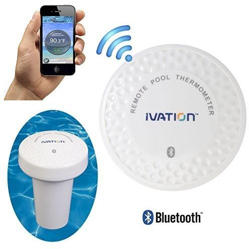 Ivation Ivation Bluetooth Water Thermometer for Bathtub, Pool & Hot Tub