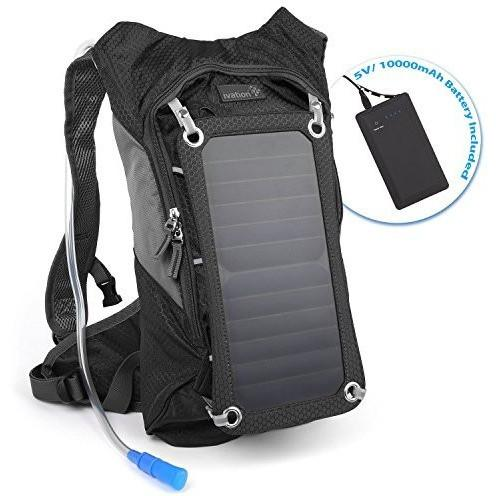 Ivation Ivation 7W Solar charging 1.8L Hydration Backpack/Bladder Bag
