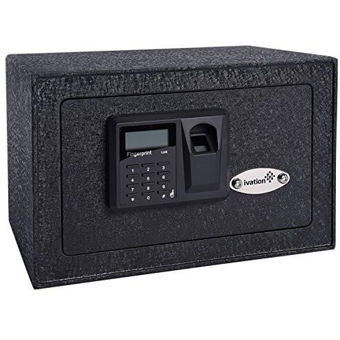 Ivation Biometric Fingerprint Home Safe