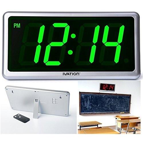 Ivation Ivation Big Time Digital LED Clock