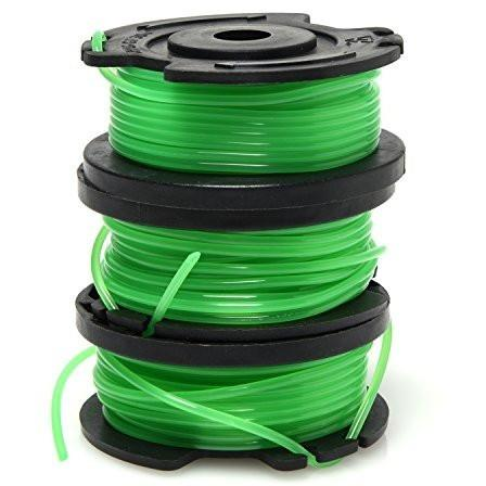 "Ivation Grass String Trimmer 3 Pack Replacement 20 Foot 0.065"" Line"