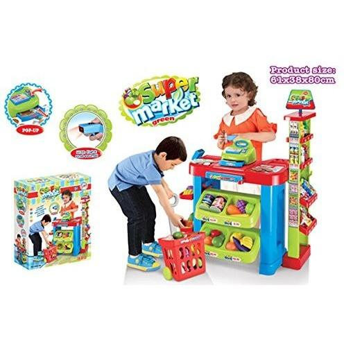 Ivation Ivation Kids Supermarket Center w/ Shopping Basket