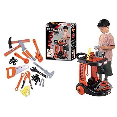 Ivation Ivation Kids Construction Tool Trolly