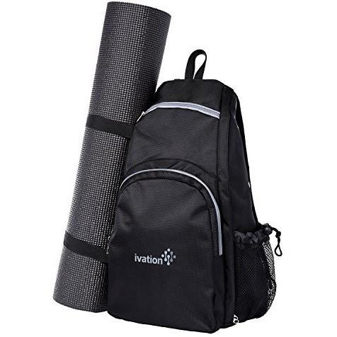 Ivation Yoga Mat Backpack Multi Purpose Crossbody Sling