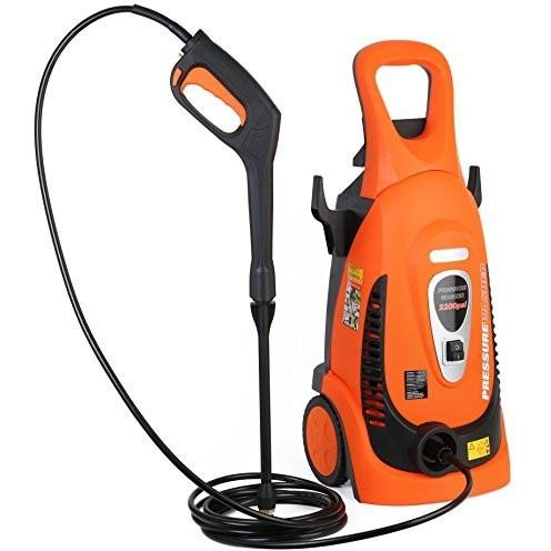 Ivation Electric Pressure Washer 2200 Psi 1.8 Gpm, Hose Nozzle Gun, Turbo Wand