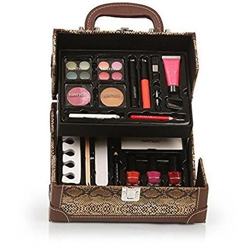 Ivation Professional Vanity Case Cosmetic Make Up Beauty Box Gift Set