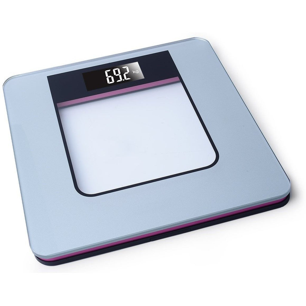Ivation Ivation Ultra Thin LCD Tempered Glass Digital Bathroom & Gym Scale