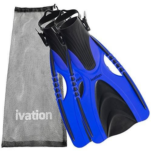 Ivation Diving Fins Swim Fins Adjustable Speed Fins