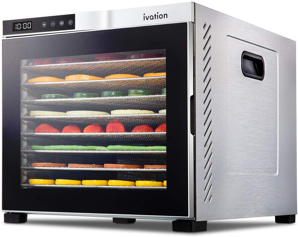 Ivation 10 Tray Electric Food Dehydrator Machine
