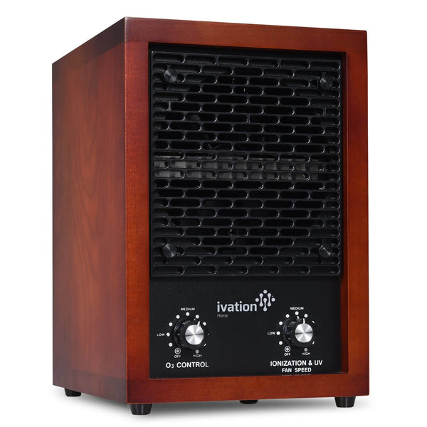 Ozone Generator & 5-in-1 Air Purifier 750mg/H  / Cherry Wood