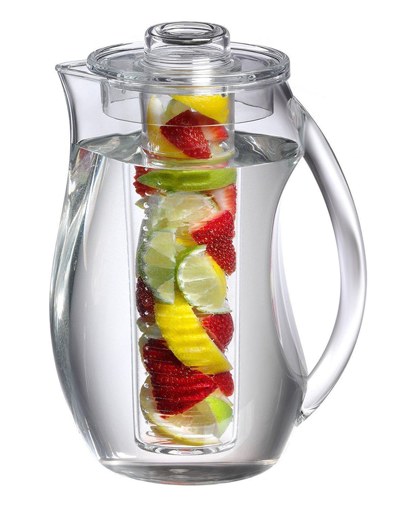 Ivation Plastic pitcher with spill proof lid
