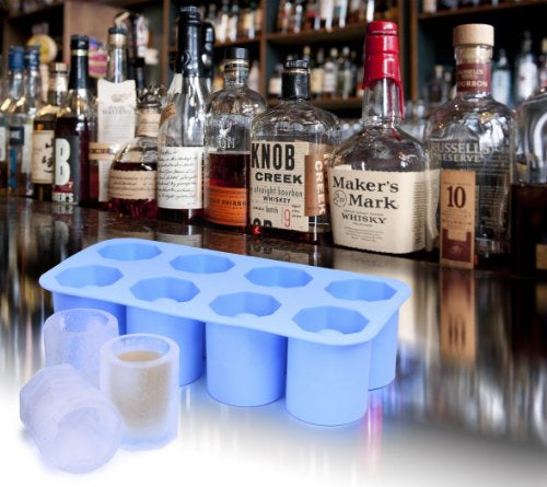 Ivation Round Shot Glasses Silicone Mold