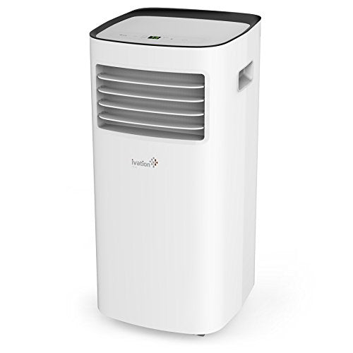 Ivation 8,000 BTU Portable AC w/ Dehumidifier Function