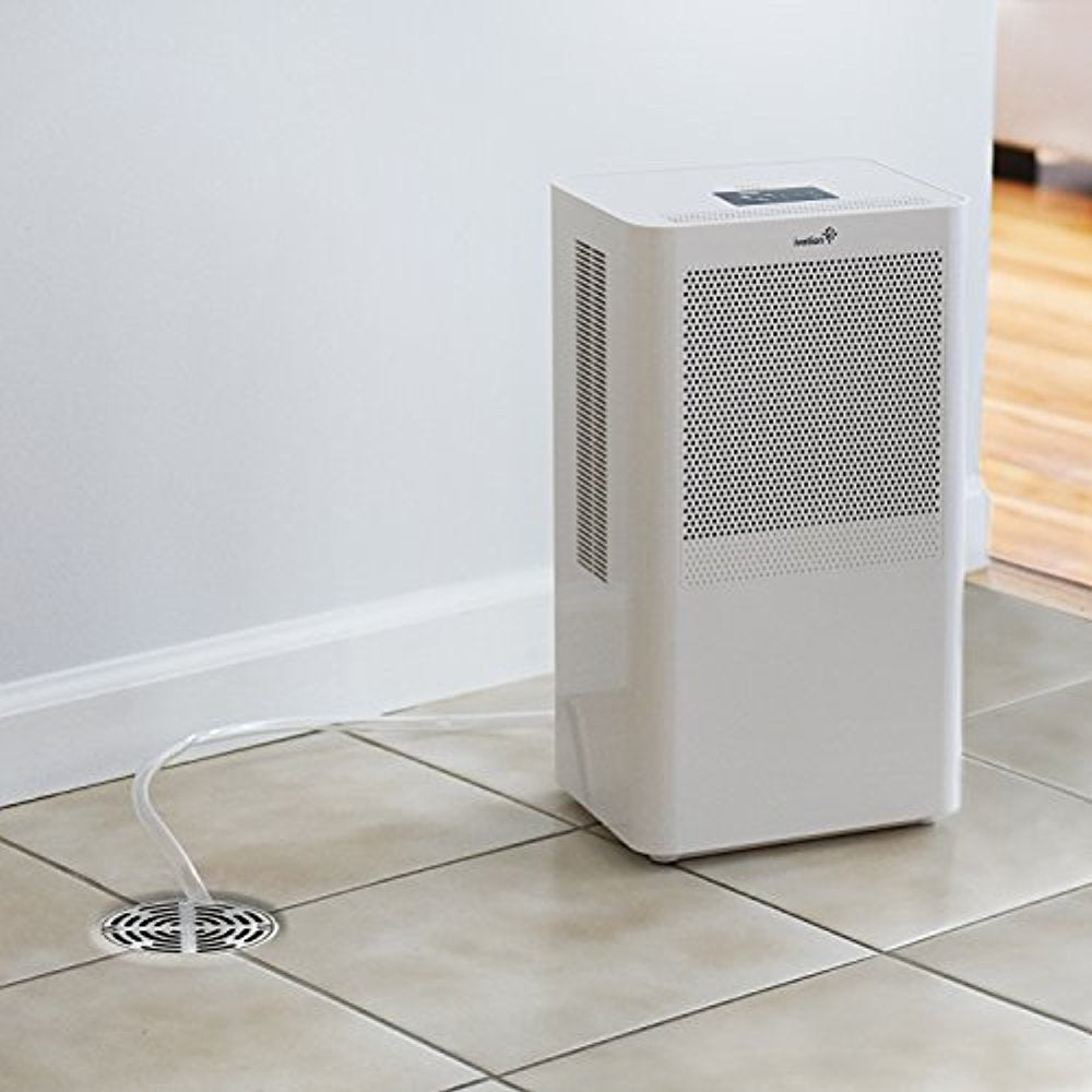 Small Compact Dehumidifier With Continuous Drain Hose