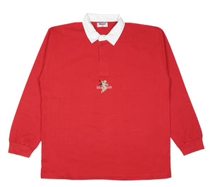 Angel red polo