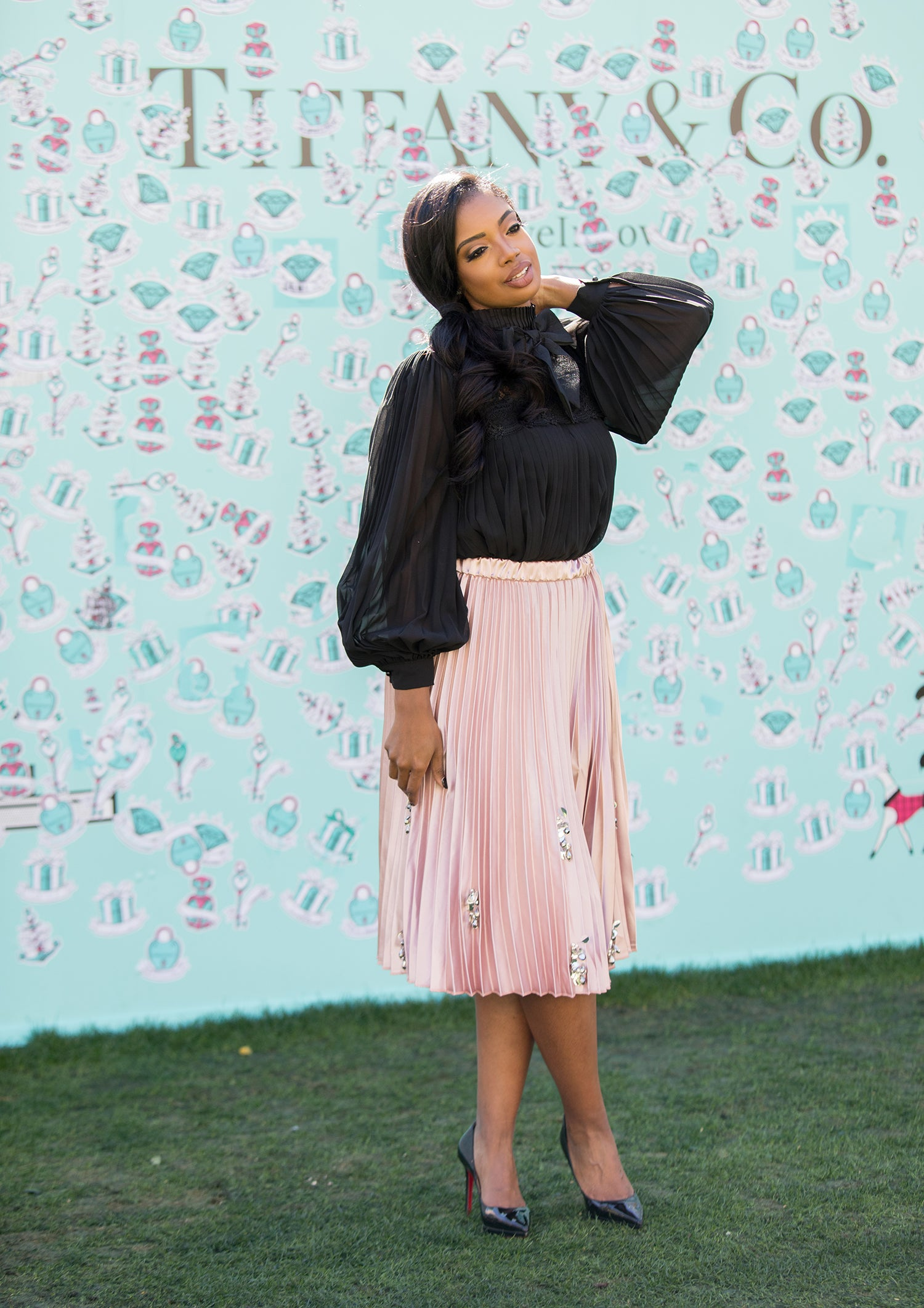 Posh Affair Midi Skirt