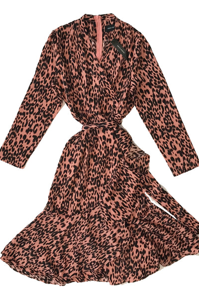 Pretty In Pink Leopard Dress