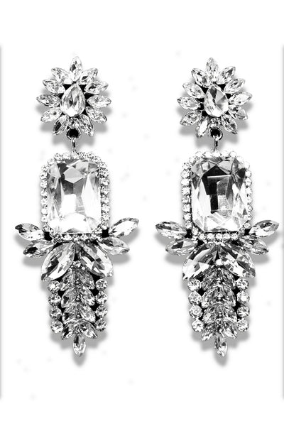 Classic Crystal Chandelier Earring