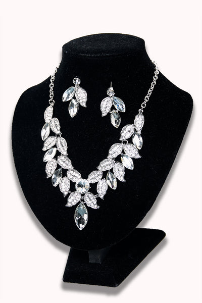 The Elegance Necklace & Earring Set