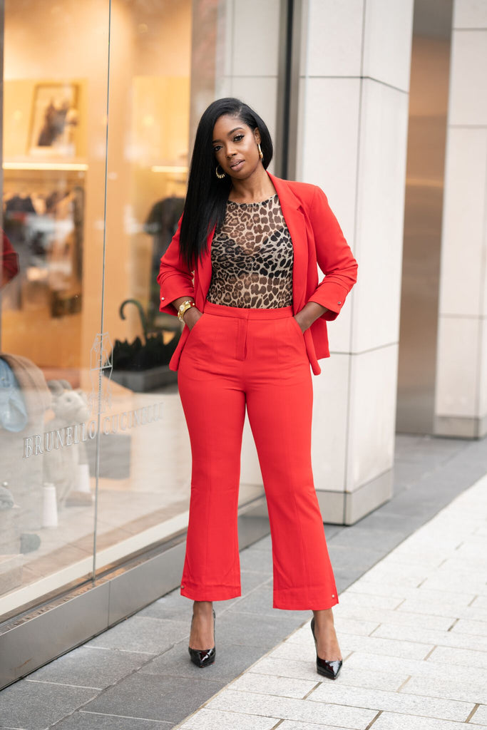 The Statement Suit Pant