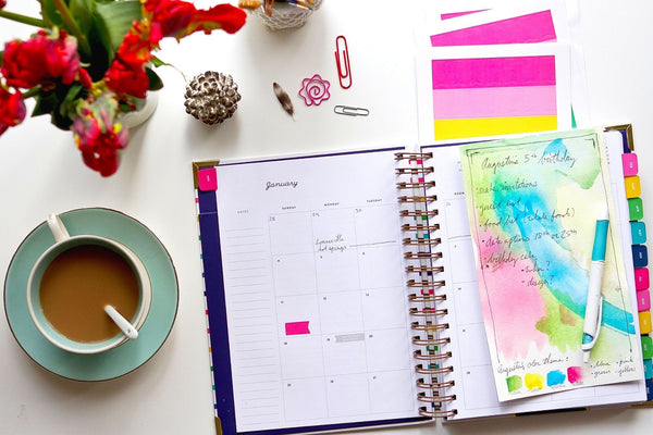 making a routine to fit your schedule