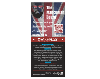 The Marine Beard Oil