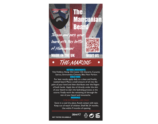 Mancunian - The Marine Beard Oil