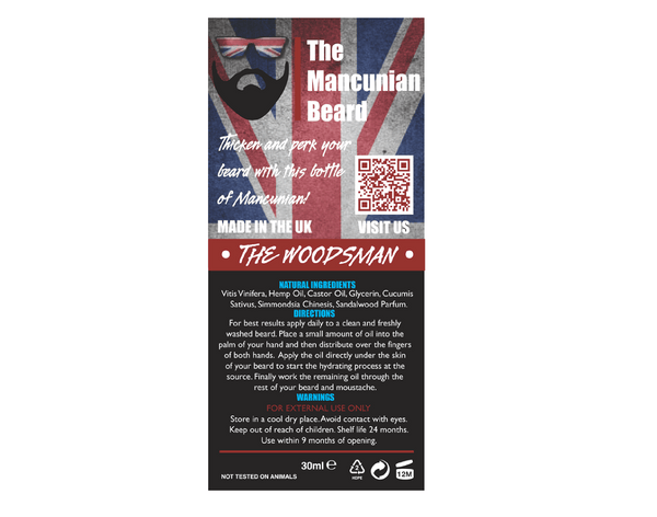 Mancunian - The Woodsman Beard Oil