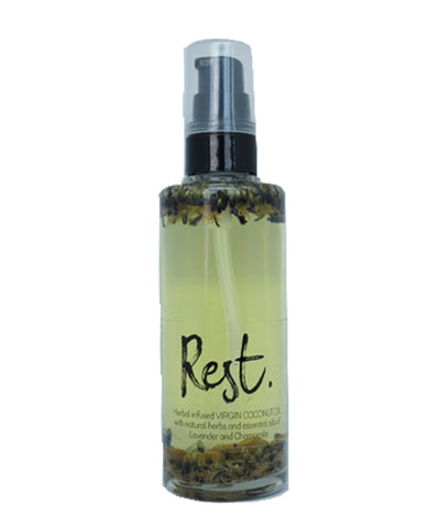 Herb Infused Body Oil