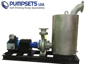 Pumpsets Ltd self priming shrimp farm pump