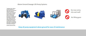 self priming sewage pump station