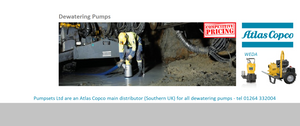 Atlas Copco Dewatering Pumps Submersible Diesel Driven