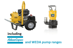 Atlas Copco Dewatering pumps