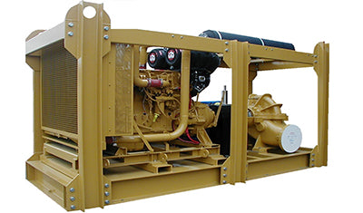 Engine driven seawater pumpset