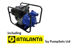 Atalanta self priming engine driven pumps