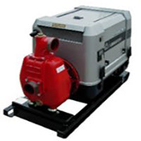 Atalanta Fulmar-844 Engine driven self priming pump by Pumpsets Ltd