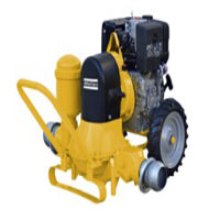 Atalanta Pelican-351 Engine driven portable self priming Trash pump by Pumpsets Ltd