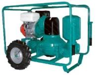 Atalanta Pelican Diaphragm Engine driven portable self priming Trash pump by Pumpsets Ltd
