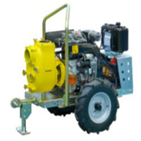 VAR4-159 Self priming Engine driven pump