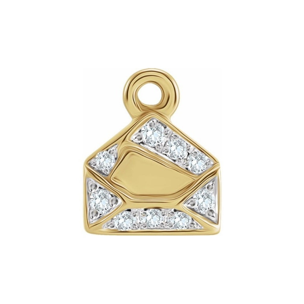 You've Got Mail Charm (+Diamonds)