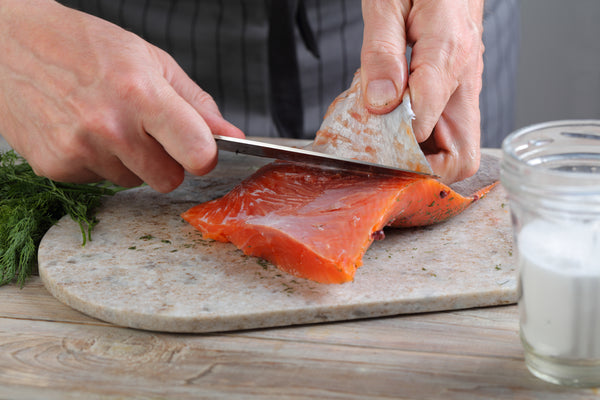 A Step-By-Step Guide to Removing Skin from a Piece of Salmon