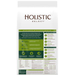 Holistic Select Natural Adult Health Lamb Meal Recipe Dry Dog Food