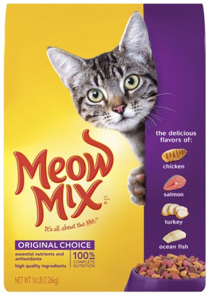 Meow Mix Original Choice Dry Cat Food