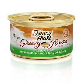 Fancy Feast Gravy Lovers Salmon Canned Cat Food